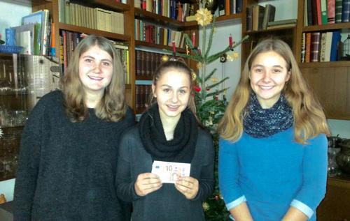 Spendenübergabe Bläserensemble Todtnau