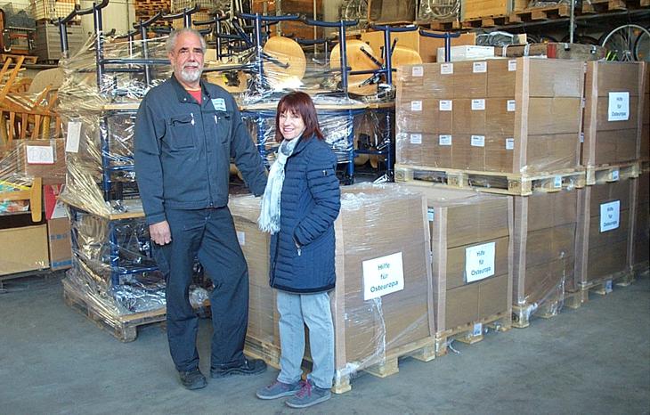 Sunstar Interbros spendet 20.000 Zahnbürsten für HfO Hilfstransporte