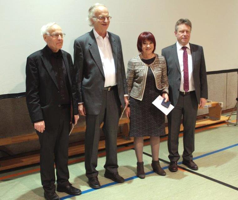Ursula Honeck erhält Bürgermedaille der Stadt Todtnau